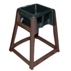 Koala Kare KB866-02 KidSitter Brown High Chair with Black Seat