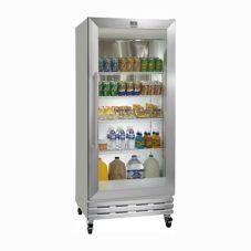 Kelvinator KCGM180RQY Gray 18 Cu Ft Glass Swing Door Merchandiser