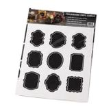 American Metalcraft CSM18 Ornate Chalkboard Stickers - 2 / PK