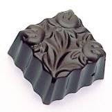 Matfer Bourgeat 380106 36 Flower Squares Candy Molds