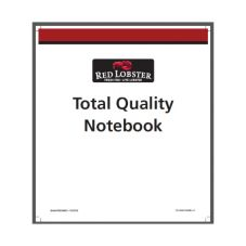 Xerographics 00MS6203 Total Quality Binder