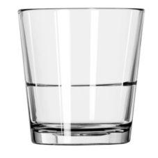 Libbey 15766 Restaurant Basics 9 Oz. Stacking Rocks Glass - 24 / CS