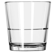 Libbey 15769 Restaurant Basics 12 Oz. Stacking DOF Glass - 24 / CS