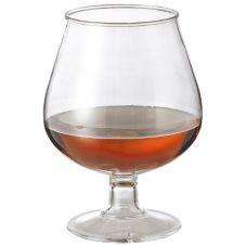 G.E.T. BRA-2-PC-CL Polycarbonate 16 Oz. Brandy Glass - 24 / CS
