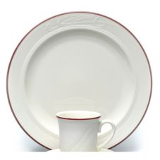 "Homer Laughlin 3401613 Lydia Gothic 11-1/8"" Plate - 12 / CS"