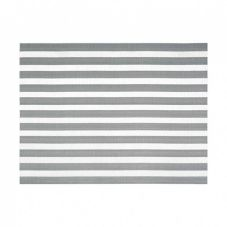 FOH XPM111SIV83 Metroweave Silver Nautical 16 x 12 Placemat - 12 / CS