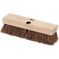 "Carlisle® 3619200 10"" Wooden Floor / Deck Scrub Brush"