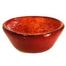 Cardinal FG945 Tiger-Glass Red 4 Oz Small Bowl - 24 / CS