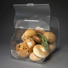 "Rosseto BAK1203 Clear Acrylic 12"" x 12"" Bakery Display Case"