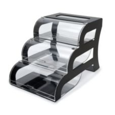 Rosseto® BK011 Three Tier Acrylic Bakery Display Case