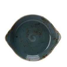 Steelite Performance 11300316 Craft 19 Oz. Blue Earred Dish - 12 / CS