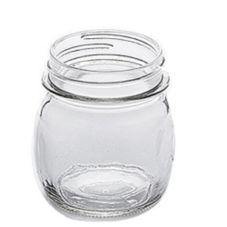 American Metalcraft MJ85 Glass 8.5 Oz. Mason Jar