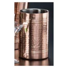 "American Metalcraft SW4C Hammered 4.75"" Copper Plated Cooler"