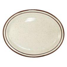 "International Tableware GR-12 NR Oval 9.75 x 7.5"" Platter- 24 / CS"