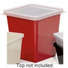 G.E.T. ML-149-RSP Red Sensation 2 Qt. Square Salad Crock