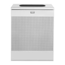 Rubbermaid® FGSR18EPLSM Silver 22.5 Gal. Indoor Receptacle