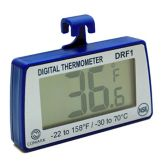 Comark DRF1 Hanging Refrigerator / Freezer Blue Digital Thermometer