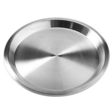 "American Metalcraft 1300SS Stainless Steel 13.13"" Pie Pan"