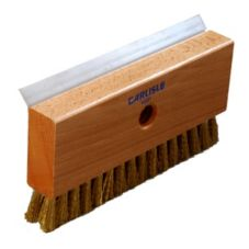Carlisle 4029100 Oven Brush and Scraper Head with Brass Wire Bristles