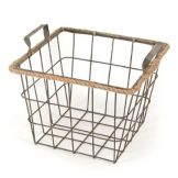 "Willow Specialties 82394S Square 12.5"" Wire Storage Basket"