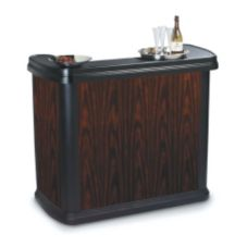 Carlisle® 7550094 Maximizer™ Cherry Wood Portable Bar