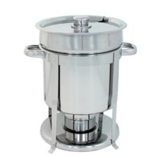 Update International CM-11 Stainless Steel 7 Qt. Contemporary Marmite