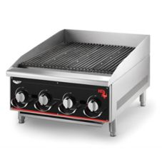 "Vollrath 924CG Cayenne Heavy Duty 24"" Countertop Nat. Gas Charbroiler"
