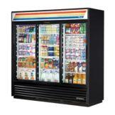 True GDM-69-LD-943620-830278 3 Section Refrigerated Merchandiser