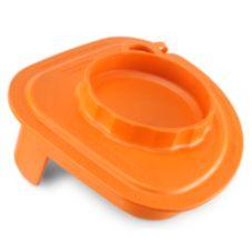 Vitamix 58998 Orange Splash Lid for 32 Oz. Advance Container