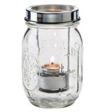 Hollowick® 1610C Firefly™ Clear Tealight Jar