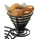 "American Metalcraft FCD2 Flat Coil 7"" Conical Basket"