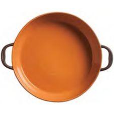 "World Tableware CBP-005 Coos Bay Pumpkin 14"" x 8.5"" Oval Tray-6 / CS"