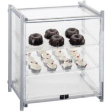 Cal-Mil 1145-S-74 One By One Silver 3-Tier Self Serve Display Case