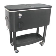 Update International CC-65B 65 Qt. Cooler Cart