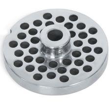 """Vollrath 40753 S/S 1/2"""" Holes Grinder Plate for Meat Grinder"""
