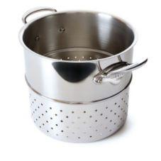 "Mauviel 5222.24 M'Cook Stainless Steel 9.5"" Pasta Insert"