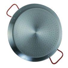 """Matfer Bourgeat 070522 Polished Steel 7-7/8"""" Paella Pan"""