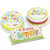 Lucks 48820 Very Happy Birthday Edible Image® - 12 / BX