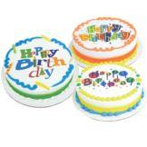 Lucks 48136 Birthday Fun Edible Image® Decoration - 12 / BX