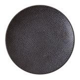"""D&V TC7700.DV.6.804 8.25"""" Cobble Black Matte Plate - 24 / CS"""
