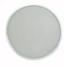 "Winco® APZS-14 Seamless Aluminum 14"" Pizza Screen"