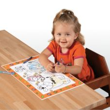 Family Hospitality 306CBR Sticks to Tables Kids Placemats - 500 / CS