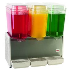 Cecilware Corp D35-4 Clear (3) 5 Gal Capacity Beverage Dispenser