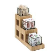 Cal-Mil 1486 3-Tier Bamboo Jar Display