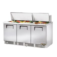 True Food Service TFP-72-30M Mega Top Sandwich Refrigerator Counter
