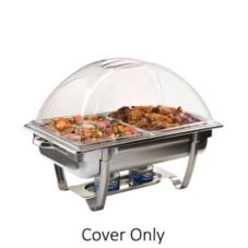 Sterno Products 70174 Heat Resistant Rect. ClearDome Chafer Cover