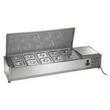 "Arctic Air ACP55 55"" Refrigerated Counter-Top Prep Unit"