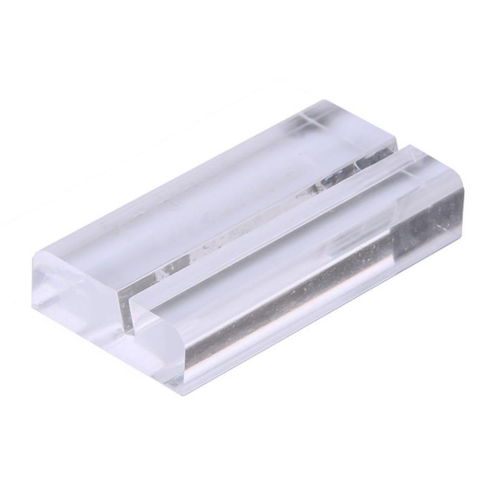"Displays2Go ACR2375 Single Slot For 2"" Business Card Holder - 24 / CS"