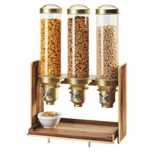 Cal-Mil 3720-46 Mid-Century Brass Cereal Dispenser