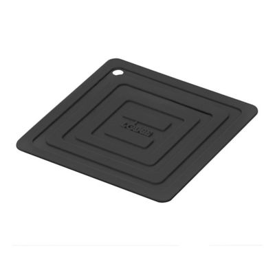Lodge® AS6S11 Black Silicone Square Pot Holder